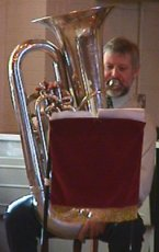 Phil Dando and Tuba