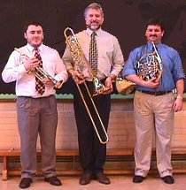 The Welsh Brass trio
